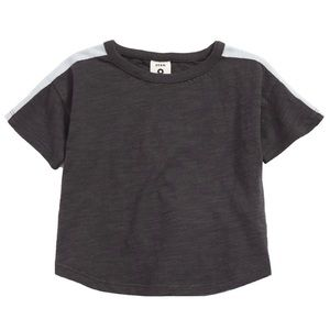 Stem shoulder stripe t-shirt NEW WITH TAGS